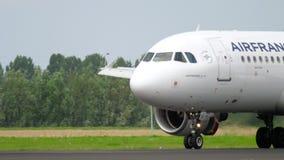 Посадка аэробуса 320 Air France акции видеоматериалы