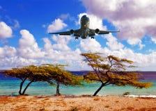 Посадка воздушного судна Стоковые Фото