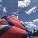 Посадка воздушного шара Стоковая Фотография RF