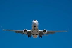 посадка воздушных судн Стоковые Фото