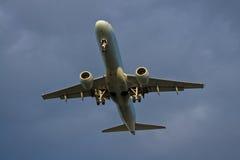 посадка воздушных судн Стоковое фото RF