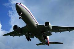 посадка воздушных судн Стоковая Фотография