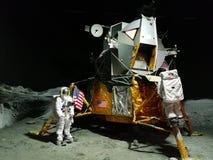 Посадка на луну Стоковые Изображения RF