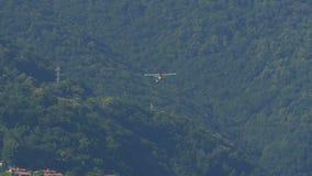 Посадка Floatplane сток-видео