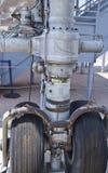 посадка manhattan шестерни конкорда зазвуковой Стоковое фото RF