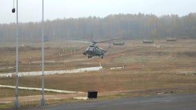 Посадка боевой группы от вертолета видеоматериал