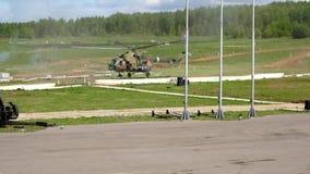Посадка вертолета сток-видео