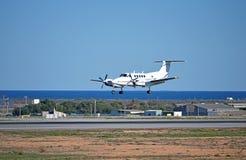 Посадка легкого воздушного судна Стоковое фото RF