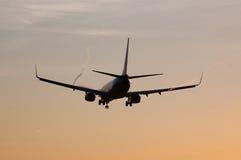 Посадка самолета Стоковые Фотографии RF