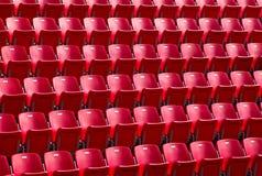 Посадочные места стадиона Стоковые Фото