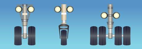 Посадочные устройства Стоковое фото RF