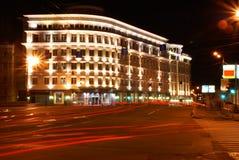 посвеченное здание Стоковая Фотография RF