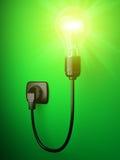 посвеченное изображение шарика 3d электрическое Стоковая Фотография RF