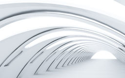 Посвеченный тоннель иллюстрация вектора