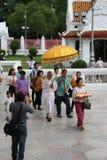 посвящение буддийского монаха Стоковая Фотография RF