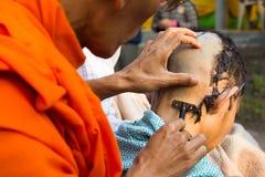 Посвящение тайского. Стоковое фото RF