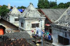 Поселения резидентов воды сари Taman передернутые замком Стоковые Фото
