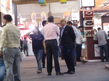 Торговая выставка в Индии Стоковое фото RF