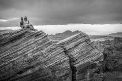 Посещающ загиб подковы в Аризоне - СТРАНИЦЕ, США - 29-ОЕ МАРТА 2019 стоковое фото rf