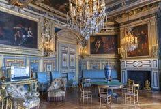 Посещая дворец Фонтенбло стоковые изображения