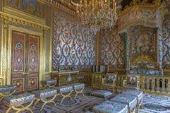 Посещая дворец Фонтенбло Стоковые Фото