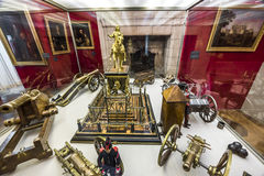 Посещая замок Chambord стоковые изображения