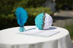 Посещая регистрация свадьбы Стоковая Фотография RF