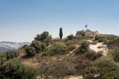 Посещая Ein Hemed и национальные парки Castel стоковая фотография