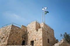 Посещая Ein Hemed и национальные парки Castel стоковая фотография rf