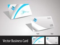 посещение вектора карточки корпоративное Стоковые Фотографии RF