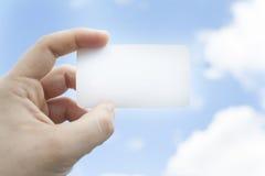 посещение вектора info иллюстрации eps 10 карточек личное Стоковые Изображения