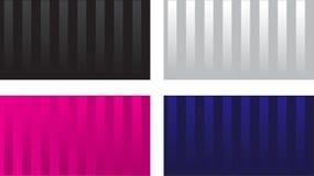 посещение карточки лоснистое striped иллюстрация штока