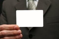 посещение карточки пустое Стоковое Фото