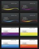 посещение 14 карточек Стоковые Изображения RF