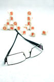 посещение optometrist Стоковое Изображение