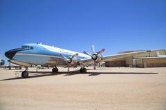 Посещение Pima проветривает и музея космоса в Tuscon стоковая фотография