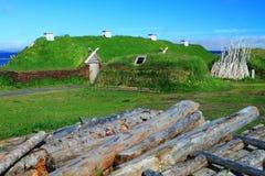 Поселение Викинга Стоковые Фотографии RF