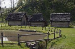 Поселение железного века Стоковое фото RF