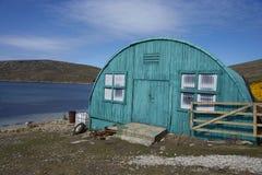 Поселение западного пункта в Фолклендских островах Стоковое фото RF