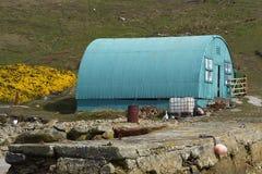 Поселение западного пункта в Фолклендских островах Стоковое Фото