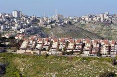 Поселение Израиль Maale Adumim стоковое изображение rf