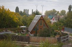 Поселение коттеджа Стоковая Фотография RF