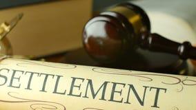 Поселение правосудия в пробном трибунале для того чтобы искать syste закона суда вердикта правды законное акции видеоматериалы