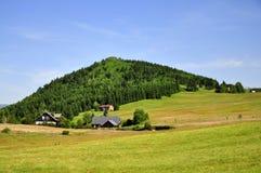 Поселение Jizerka сельское Стоковая Фотография