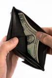 последнее доллара стоковая фотография