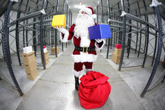 Последнее мельчайшее Santa Claus Стоковые Фото