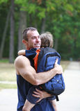 последнее одно hug стоковые изображения rf
