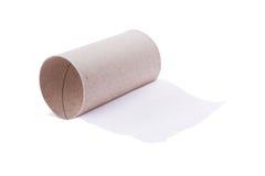 последний бумажный туалет листа стоковое фото