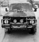 Последний реальный русский SUV стоковые изображения rf