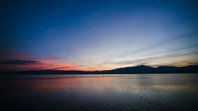 Последний свет дня Стоковая Фотография RF